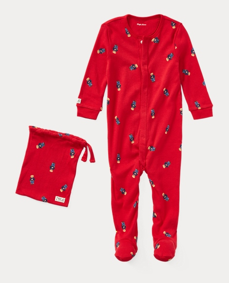 Polo Bear Sleep Coverall