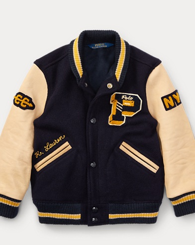 The Iconic Letterman Jacket