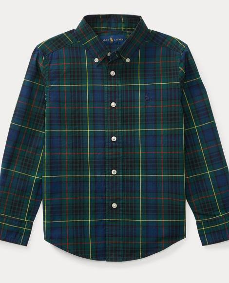 Tartan Cotton Poplin Shirt