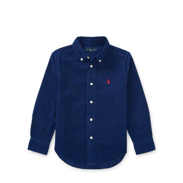 Ralph Lauren Cotton Corduroy Sport Shirt Fall Royal 3T