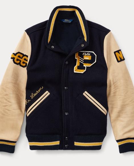The Iconic Letterman Jacket