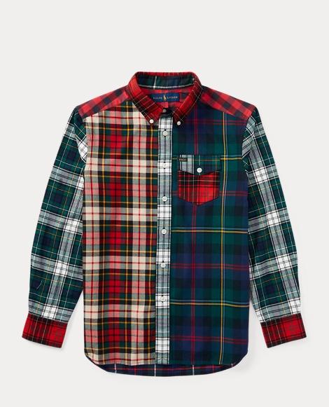 Plaid Cotton Twill Shirt