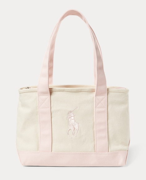 Canvas Medium Big Pony Tote