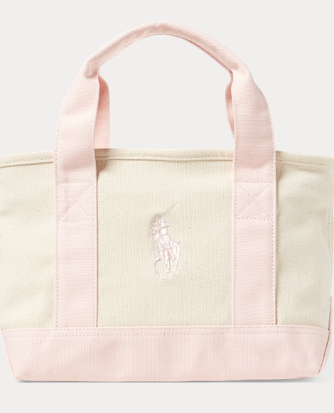 Canvas Small Big Pony Tote
