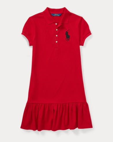 Big Pony Mesh Dress
