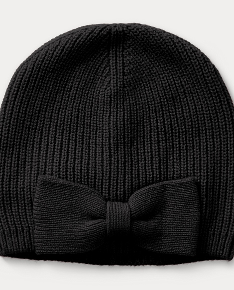 Bow Wool-Blend Hat