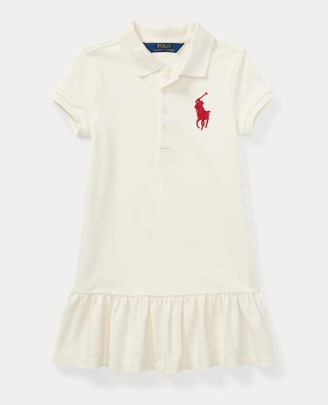 Big Pony Stretch Polo Dress