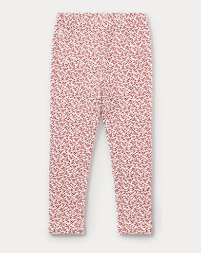 Floral Stretch Cotton Legging