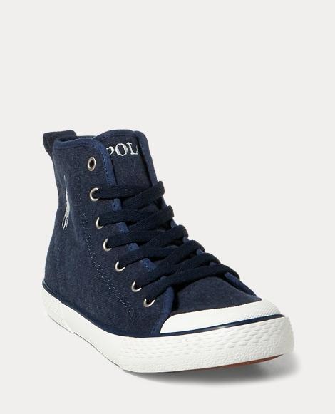 Jersey Mid-Top Sneaker