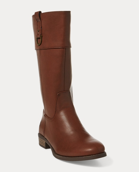 Mesa Faux-Leather Riding Boot