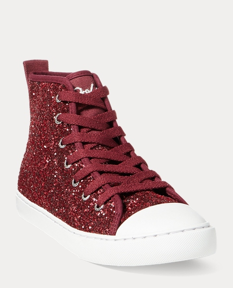 Hollyn Glitter Mid-Top Sneaker