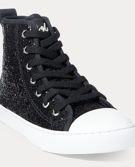 Hollyn Glitter Mid-Top Sneaker