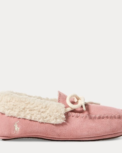 Allister Faux-Suede Slipper