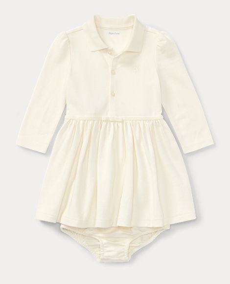 Cotton Polo Dress & Bloomer