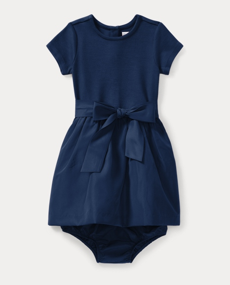 Fit-and-Flare Dress & Bloomer