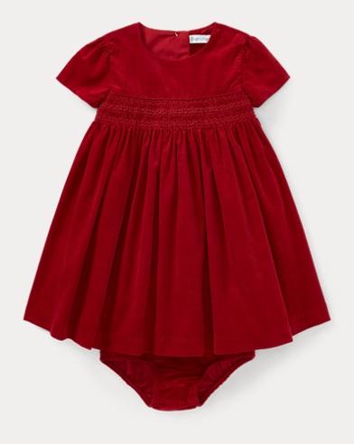 Corduroy Dress & Bloomer