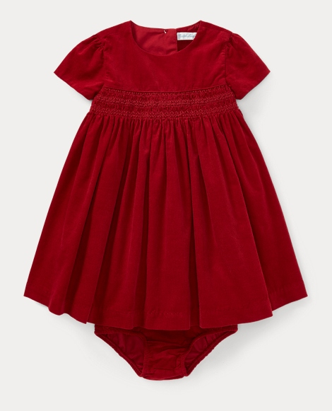 Corduroy Dress & Bloomer