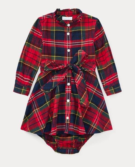 Tartan Flannel Dress & Bloomer