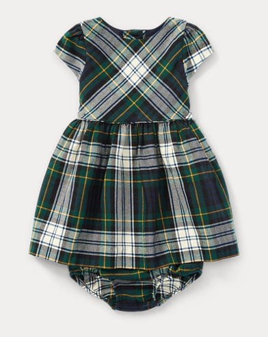 Flannel Dress & Bloomer