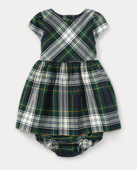 Flannel Dress & Bloomer