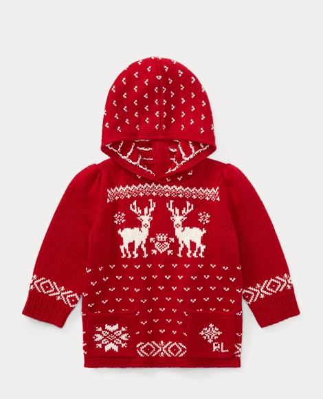 Reindeer Hooded Sweater