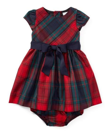 Tartan Taffeta Dress & Bloomer