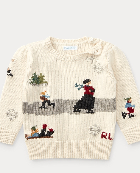 Skating Cotton-Wool Sweater