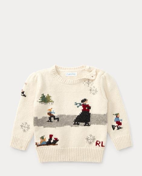 Skating Cotton-Wool Sweater