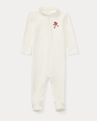 Polo Bear Footed Coverall