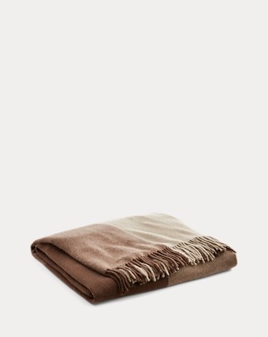 Dalston Wool-Cashmere Throw