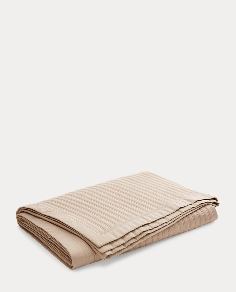 RL Reed Sateen Coverlet