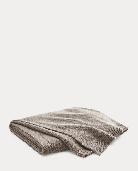Camden Wool Throw Blanket