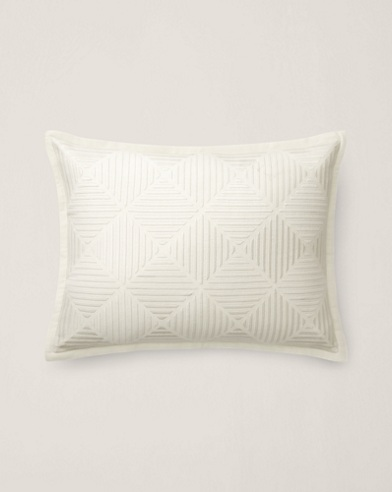 Sandra Embroidered Pillow