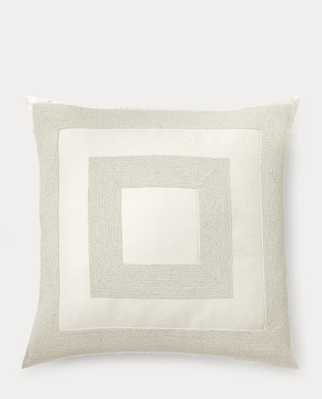 Amaya Beaded Throw Pillow
