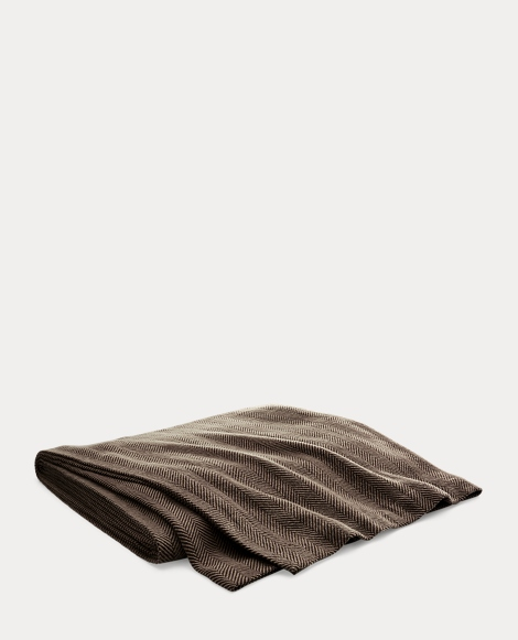 Maynor Herringbone Bed Blanket