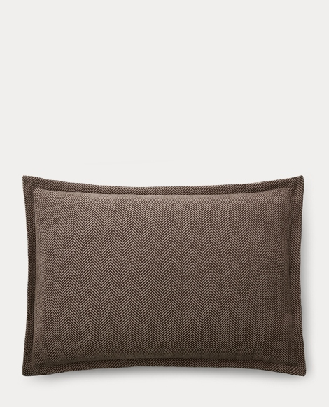 Maynor Herringbone Cotton Sham