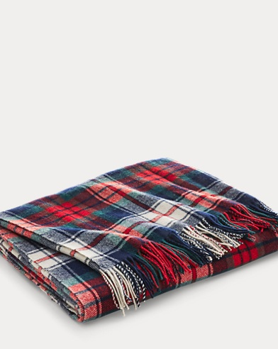 Hadwin Wool Throw Blanket