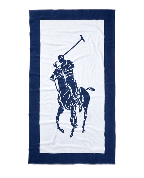 Signature Pony Beach Towel