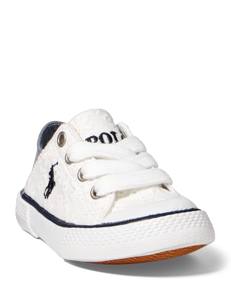Callie Eyelet Low-Top Sneaker