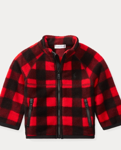 Buffalo Check Fleece Jacket