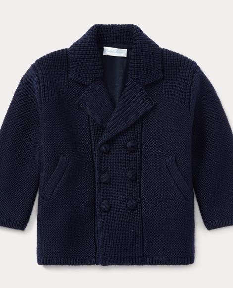 Merino Wool Sweater Coat