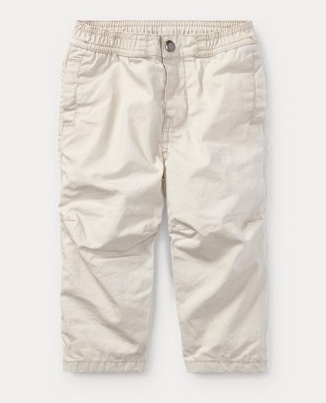 Cotton Poplin Jogger