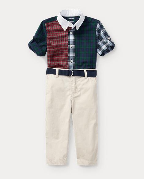 Shirt, Pant & Belt Set