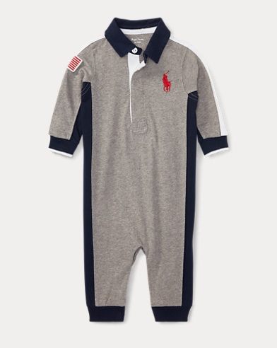Cotton Jersey Rugby Coverall