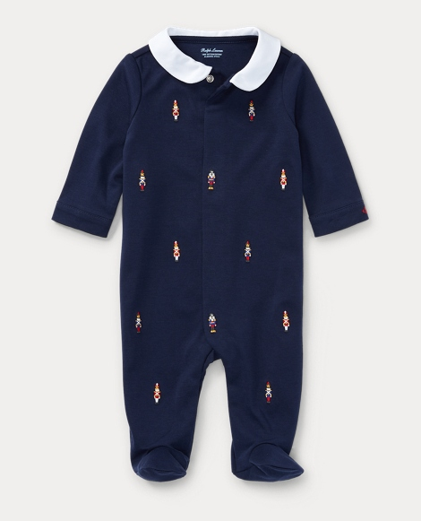 Nutcracker Cotton Coverall