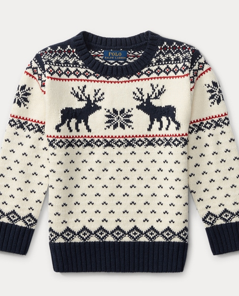 Reindeer Cotton-Wool Sweater