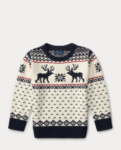 Reindeer Cotton-Wool Sweater
