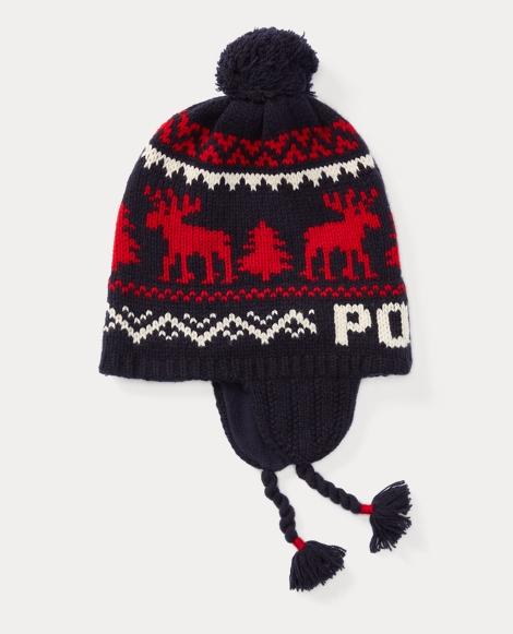 Reindeer Merino Wool Hatt