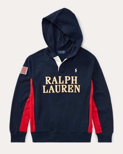 Cotton Jersey Hooded Rugby