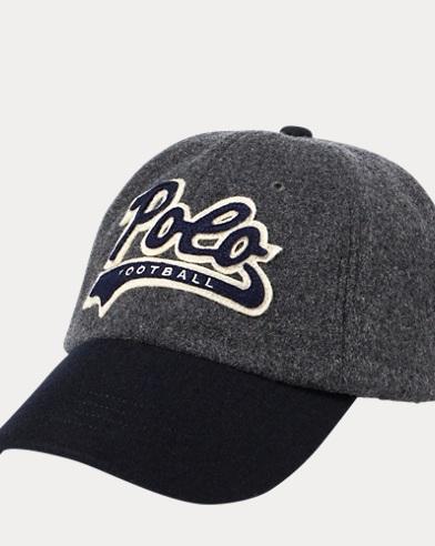 Polo Football Wool-Blend Cap